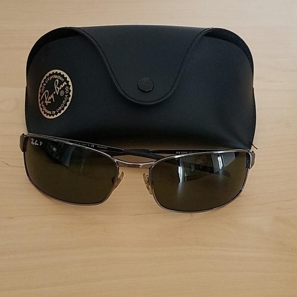 5c26932eba0 Ray Ban RB 3269 Polarized Sunglasses. M 5b65cc02df0307963fd4a23d